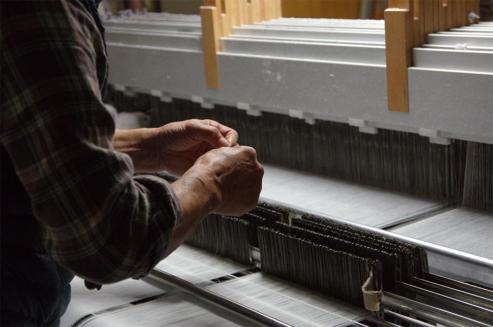 細田織物作業